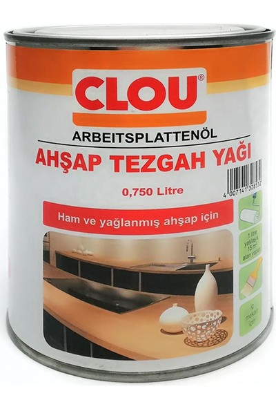 Clou Ahşap Tezgah Yağı 750 ml