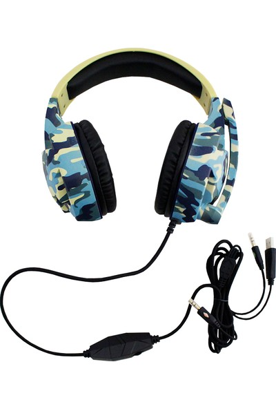 Komc G306 Mikrofonlu Oyuncu Kulaklığı
