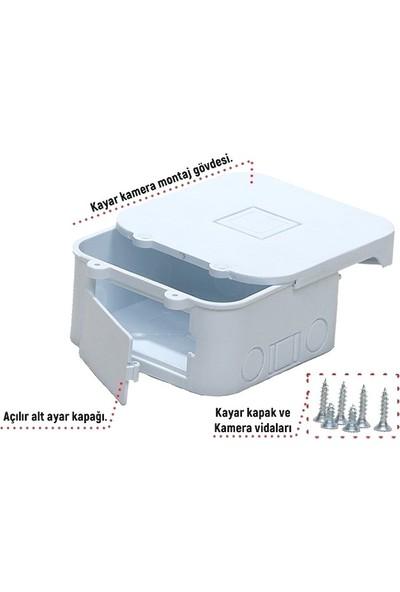 Electroon Profesyonel Güvenlik Kamera Montaj Kutusu Kare - 10 Adet