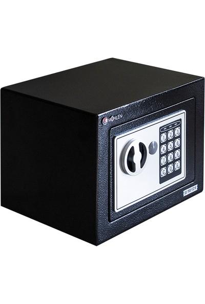 Mühlen Schutz 17B Elektronik Para Ve Değerli Eşya Kasası (Siyah)