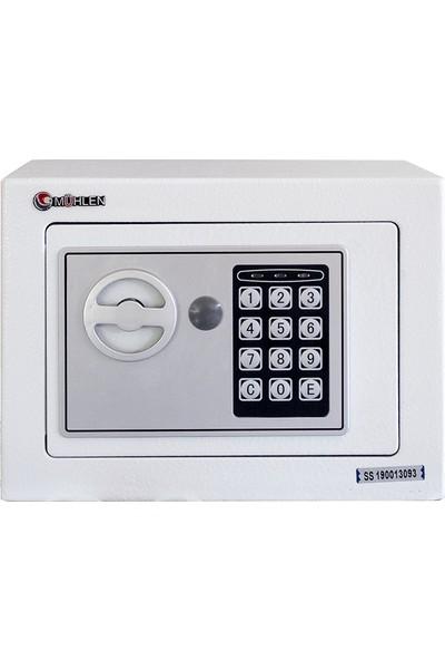 Mühlen Schutz 17W Elektronik Para Ve Değerli Eşya Kasası (Beyaz)
