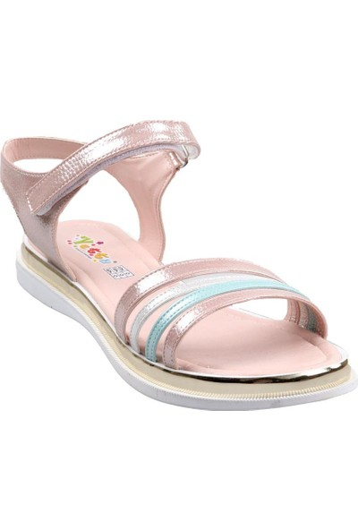 Vetta Girls Kız Çocuk Pudra Sandalet