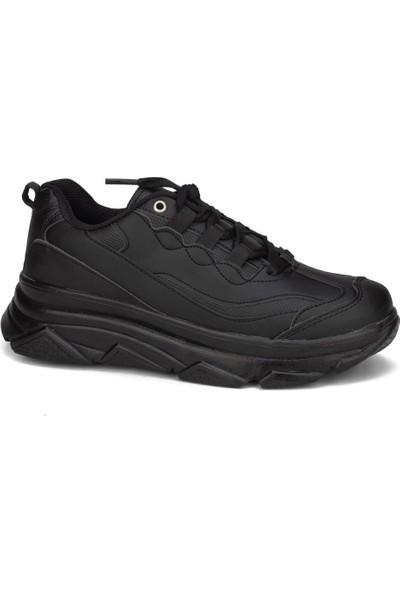 Coollest Unisex Siyah Günlük Spor Ayakkabı