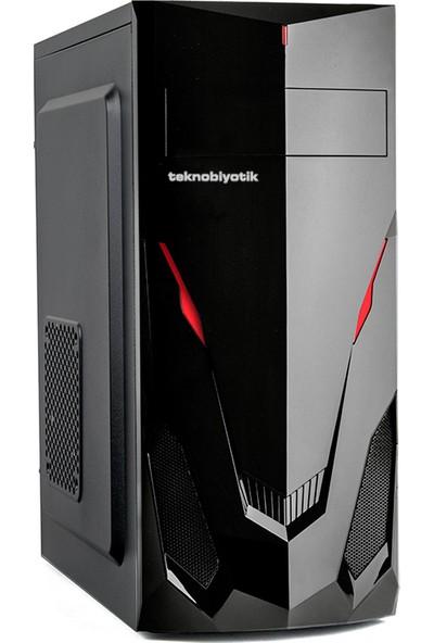 Teknobiyotik 1600-1 AMD Ryzen 5 1600 8GB 240GB SSD RX570 Freedos Masaüstü Bilgisayar DK-PC-1600-1