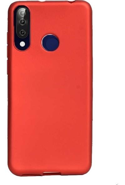 Gpack Casper Via F3 Kılıf Premier Silikon Esnek Koruma + Nano Glass Kırmızı
