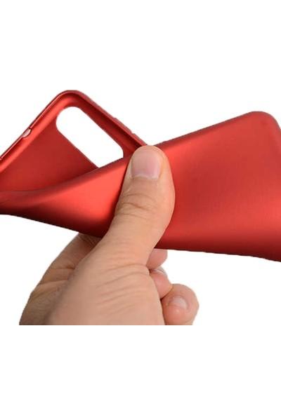 Gpack Casper Via F3 Kılıf Premier Silikon Esnek Koruma + Nano Glass Mürdüm