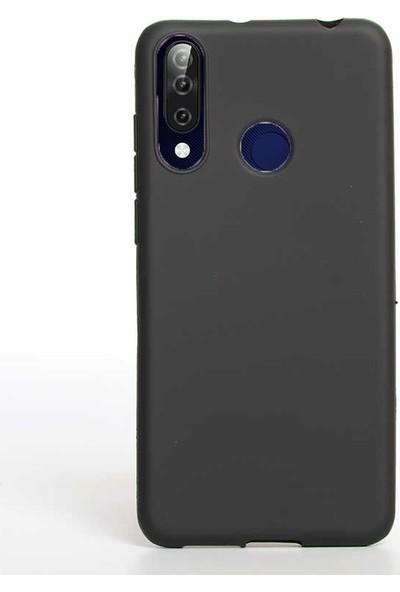 Gpack Casper Via F3 Kılıf Premier Silikon Esnek Koruma + Nano Glass Siyah