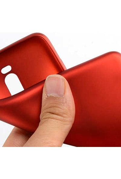 Gpack Meizu Note 8 Kılıf Premier Silikon Esnek Koruma + Nano Glass Lacivert