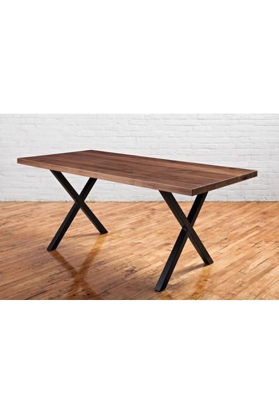 Woodyclass Concept X Doğal Masif Ahşap Masa 150 x 70 cm