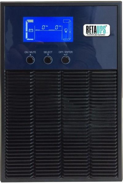 Betaups BT 11 1000Va LCD Online UPS
