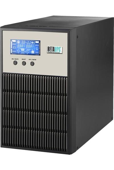 Betaups Energy Serisi 3000Va Online UPS