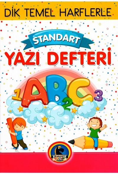 Karatay Yayınları Standart Güzel Yazı Defteri Büyük Boy