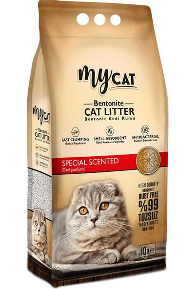 My Cat Özel Parfümlü İnce Taneli Bentonit Kedi Kumu