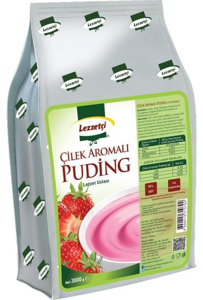 Lezzetçi Çilek Aromalı Puding 3kg