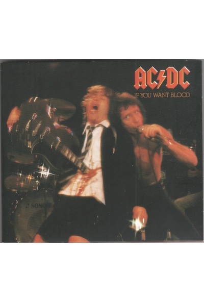 Ac/dc – If You Want Blood You've Got It CD