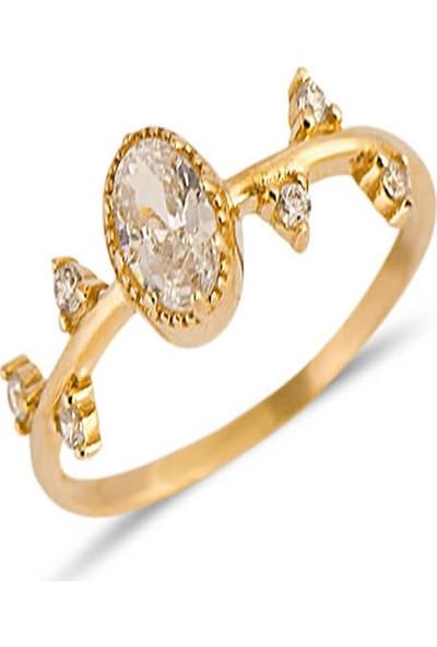 Dal Kuyumculuk Izlanda Evlilik Yüzüğü Modeli 14 Ayar Altın