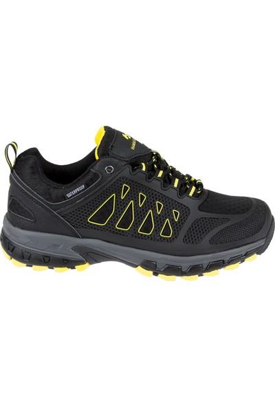 Hammer Jack Su Geçirmez Garantili Erkek Ayakkabı 19925 Siyah Sarı
