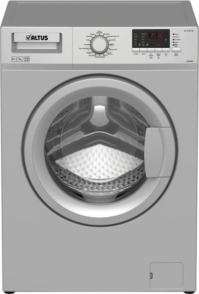 Altus AL 9101 DS A+++ 9 kg 1000 Devir Çamaşır Makinesi Gri