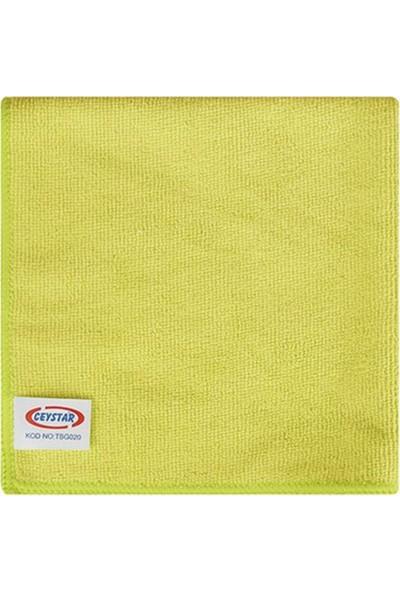 Ceystar Mikrofiber Temizlik Bezi Sarı
