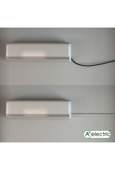 A Plus Elektrik 100 x 60 mm Beyaz 12 x 2 m 16 m Bantsız Kablo Kanalı