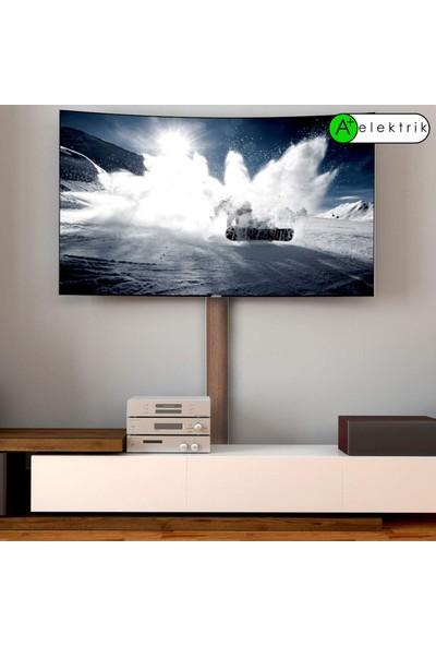 A Plus Elektrik 50 x 12 mm Balık Sırtı Güçlü Yapışkan Bantlı Lamine Kaplamalı Ceviz 4 x 1 m 4 m Kablo Kanalı