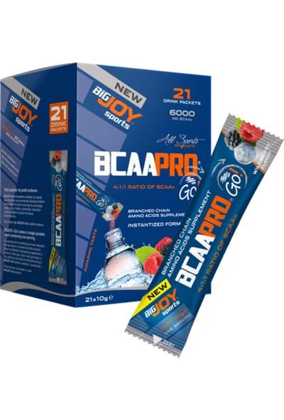 Bigjoy Bcaa Pro Go! 21 Drink Packets Amıno Asıt