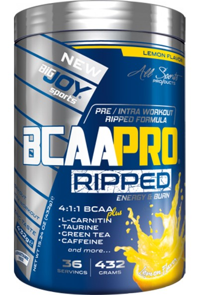 Bigjoy Bcaapro 4:1:1 Ripped 432GR 3 Aromalı Bcaa Powder