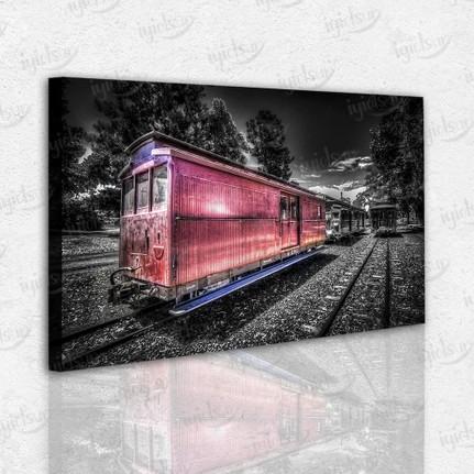 Iyi Olsun Tren Vagonu Kanvas Tablo Fiyati Taksit Secenekleri