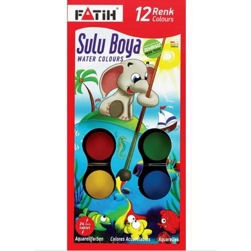 Fatih 904 S12 Sulu Boya 12 Li Fiyati Taksit Secenekleri