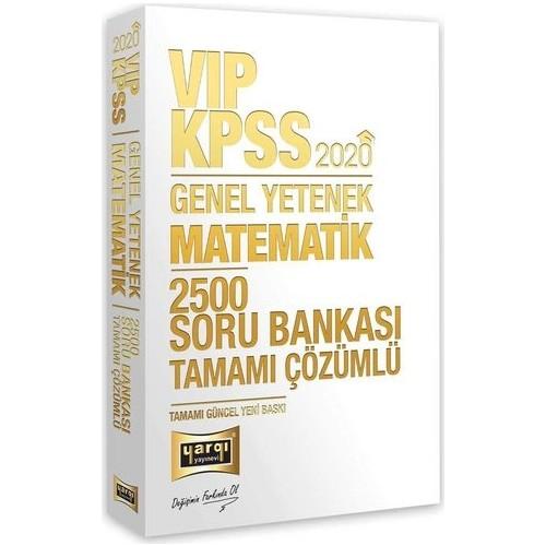 Yargı Yayınları 2020 Kpss Vıp Matematik Tamamı Çözümlü 2500 Soru Bankası