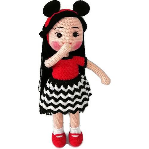Amigurumi İnce Bebek Yapımı/Barbie Bebek Yapımı( 3.BÖLÜM) - YouTube   500x500