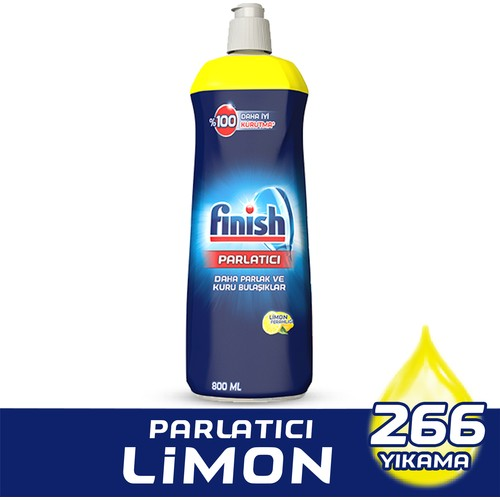 Finish Bulaşık Makinesi Parlatıcı Limon 800 ml