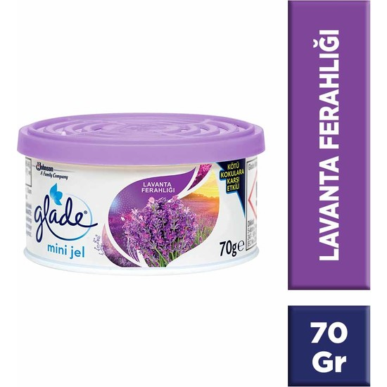 Glade Lavanta Mini Jel 70 Gr