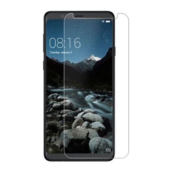 Dafoni Samsung Galaxy A6s Tempered Glass Premium Cam Ekran Koruyucu