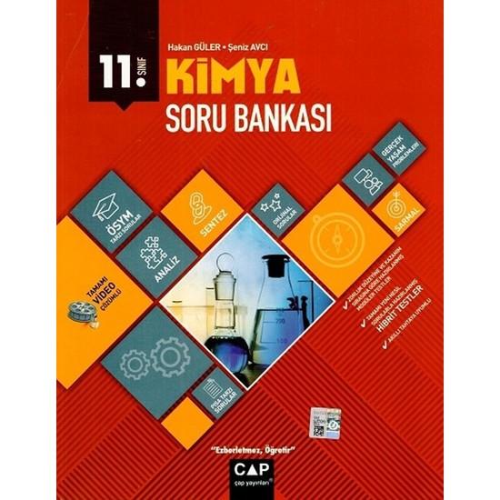 Çap Yayınları 11. Sınıf Anadolu Lisesi Kimya Soru Bankası - Şeniz Avcı