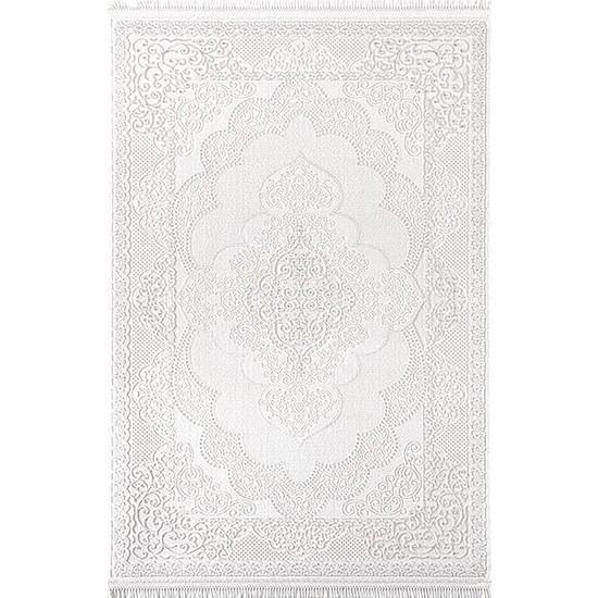 Patika Halı Larut 7963A Beyaz 150 x 233 cm