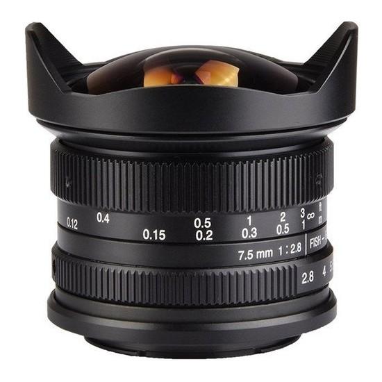 7artisans 7.5mm F2.8 APS-C Fisheye Fixed Lens (Canon EOS-M Mount)