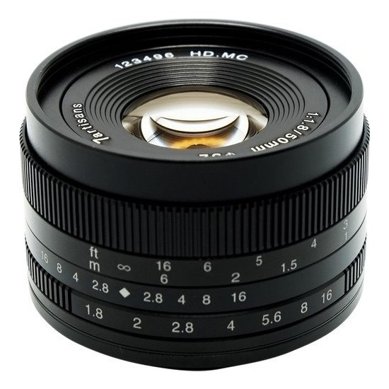 7artisans 50mm F1.8 APS-C Lens M43 (Panasonic Olympus Mount)