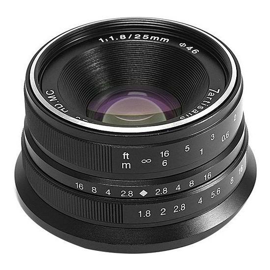 7artisans 25mm F1.8 Manual Focus Prime Fixed Lens Sony (E-Mount)