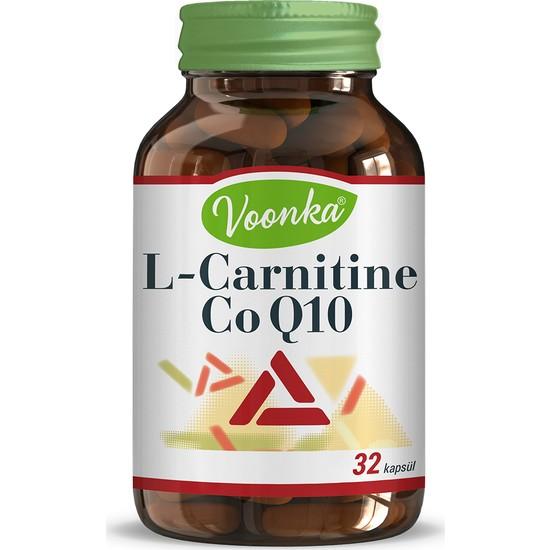 Voonka L Carnitin & Co Q10 32 Sert Kapsül