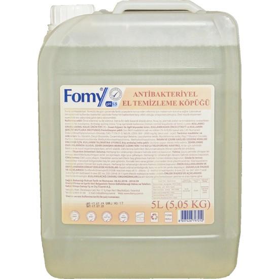 Fomy Antibakteriyel Köpük Sabun 5 lt
