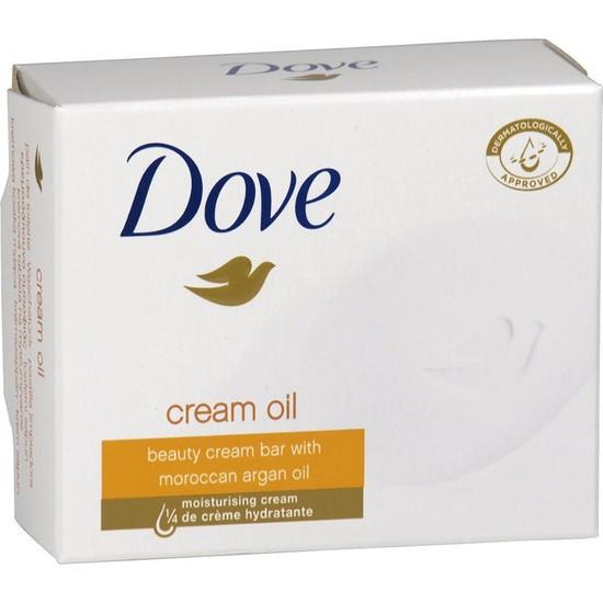 Dove Güzellik Sabunu Cream Oil 100 gr 2 Li Paket