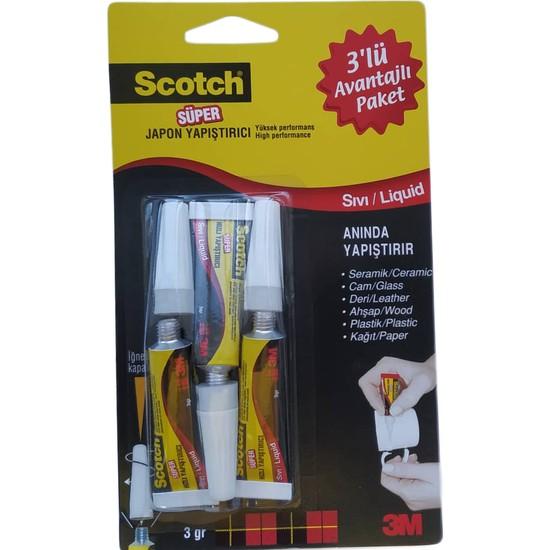Scotch Japon Yapıştırıcı 3'lü Avantaj Paketi
