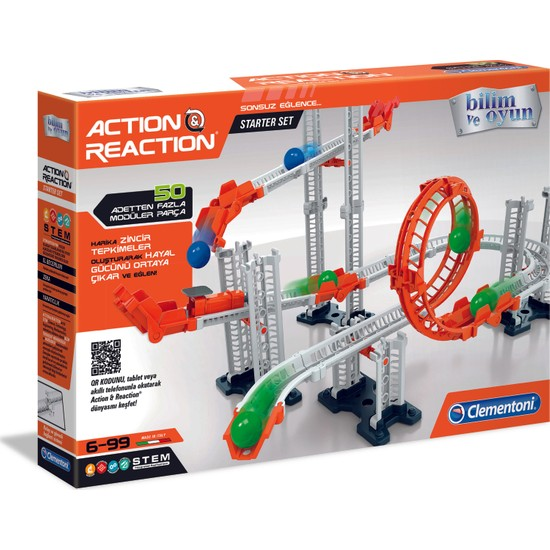 Clementoni Action & Reaction - Starter Set