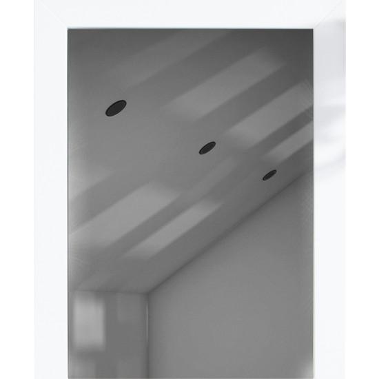Otto Mirror60x80 cm Beyaz Duvara Asılır Çerçeveli Ayna