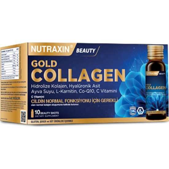Nutraxin Beauty Gold Collagen 10 x 50 ml