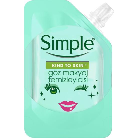 Simple Kind To Skin Mini Göz Makyaj Temizleyicisi 50 Ml - Seyahat Boyu