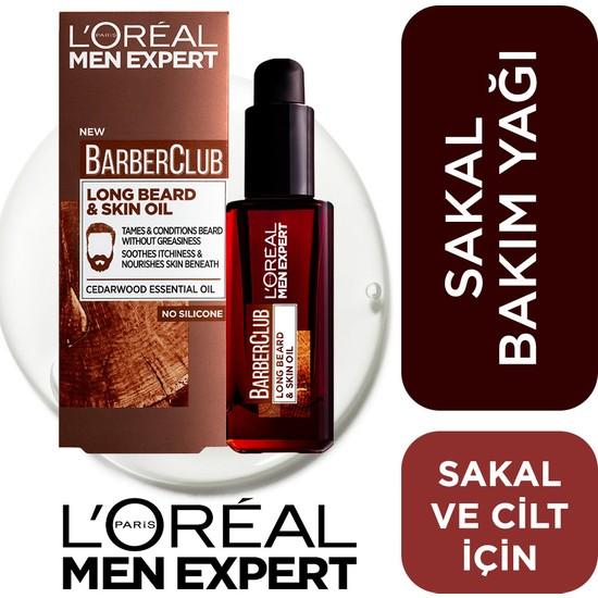 L'Oréal Paris Men Expert Barber Club Sakal Ve Cilt Bakım Yağı 30 Ml