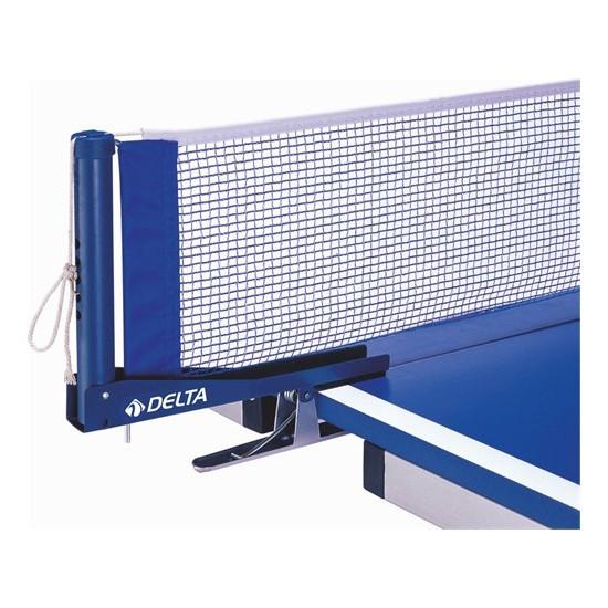 Delta Mavi Masa Tenisi Maşalı Deluxe Pinpon Ağı File Demir Seti