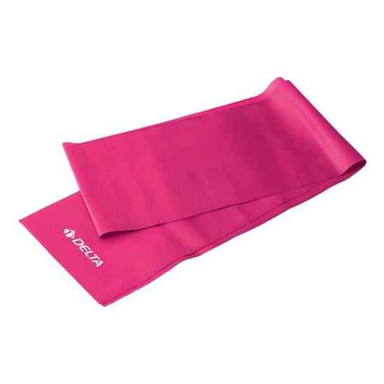 Delta Pilates Bandı Orta Sert 120 x 15 cm Egzersiz Direnç Lastiği